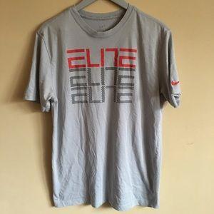 Nike Dry Fit Elite T-Shirt Size Large